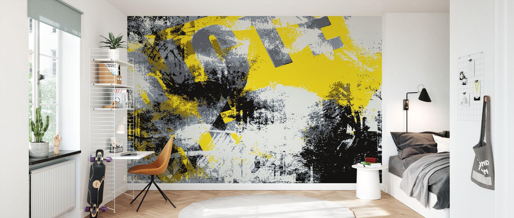 Grunge Background - Wallpaper - Kids Room