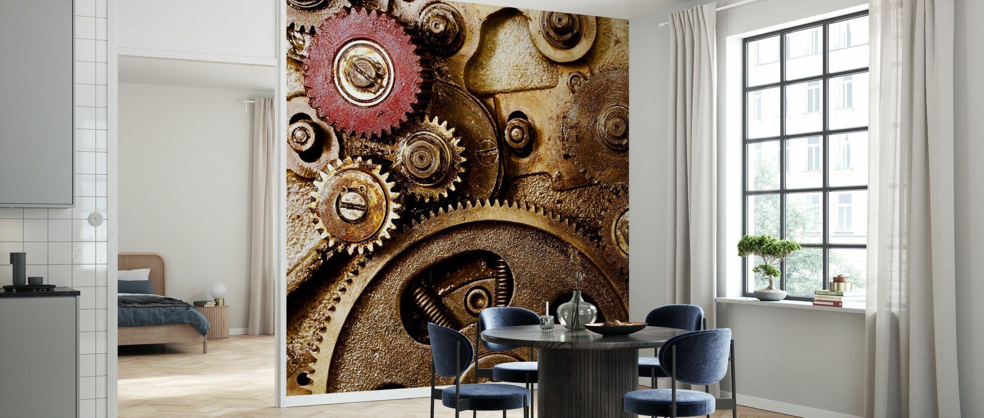 Vintage Gearing - Wallpaper - Kitchen