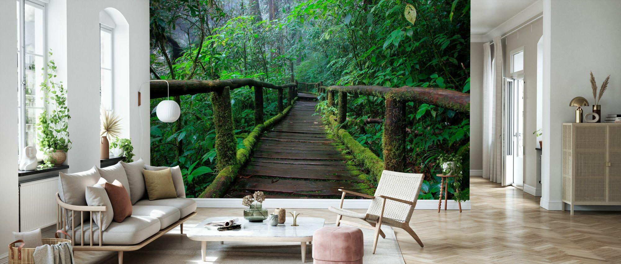Beautiful Bridge in Thailand - Wallpaper - Living Room