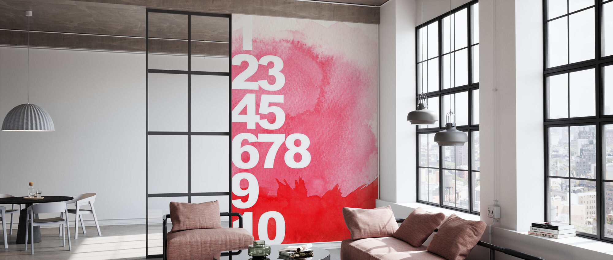 Numbers Background - Wallpaper - Office
