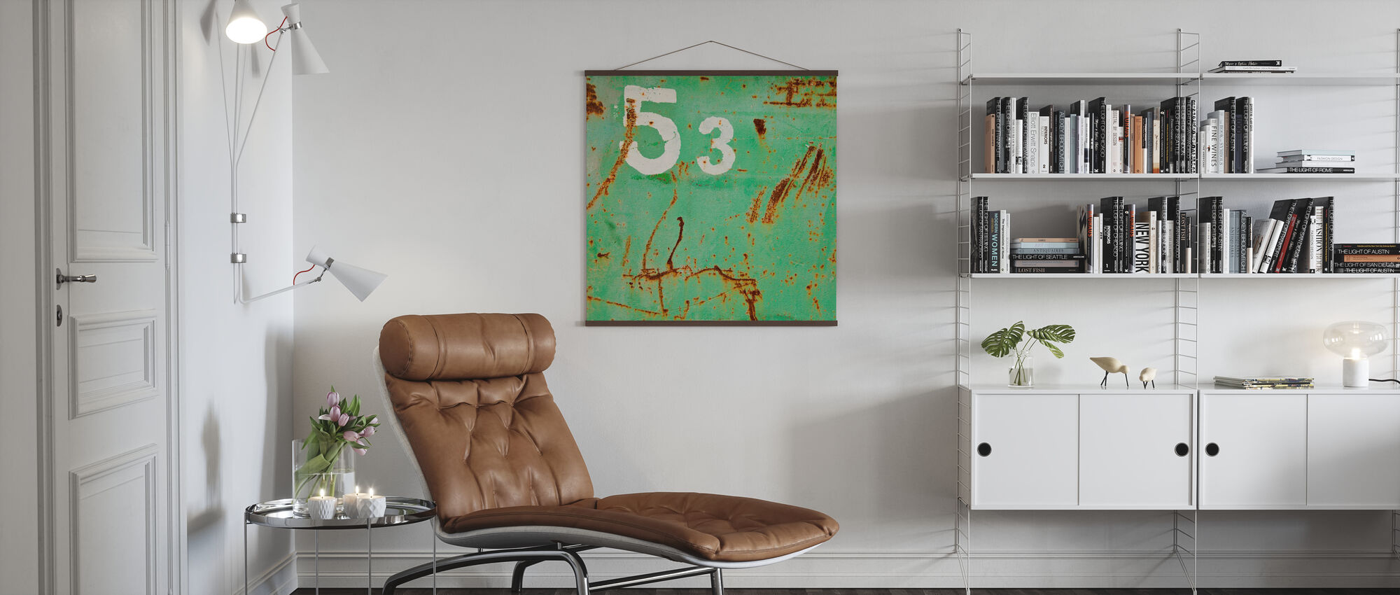 Grunge Fifty-three - Poster - Living Room