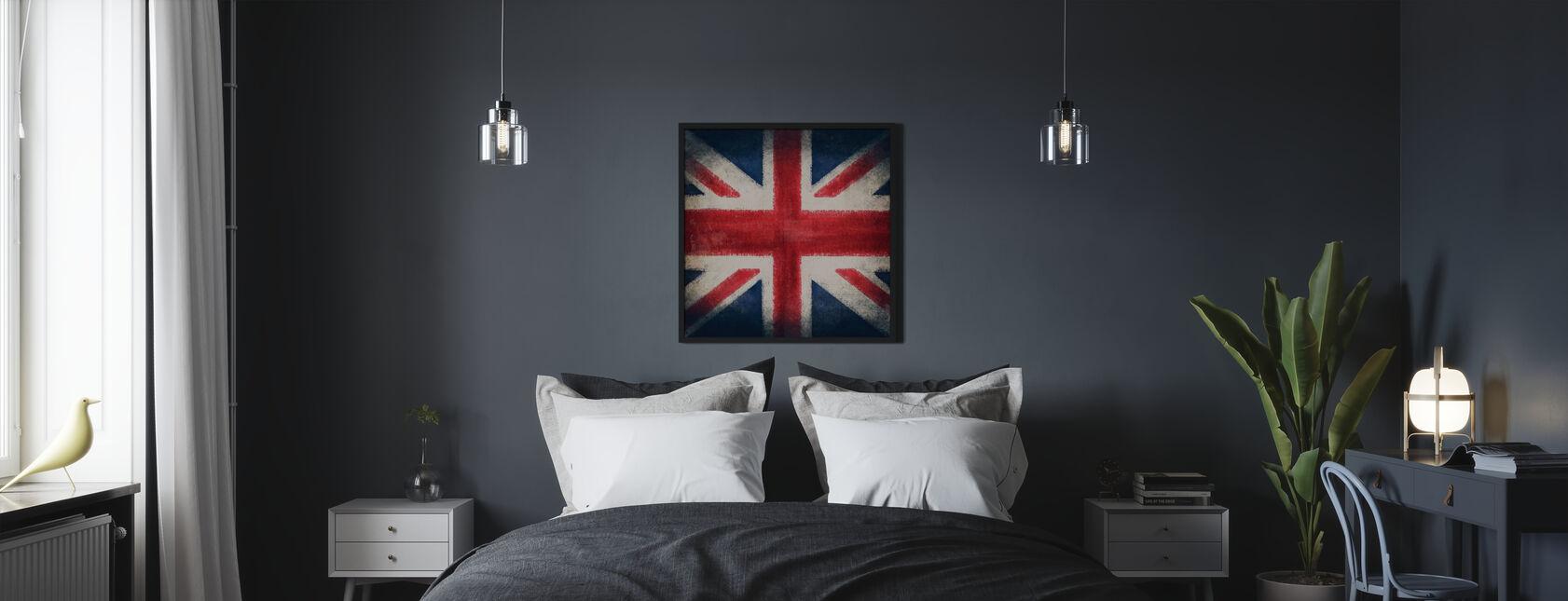 Retro Flag - Poster - Bedroom
