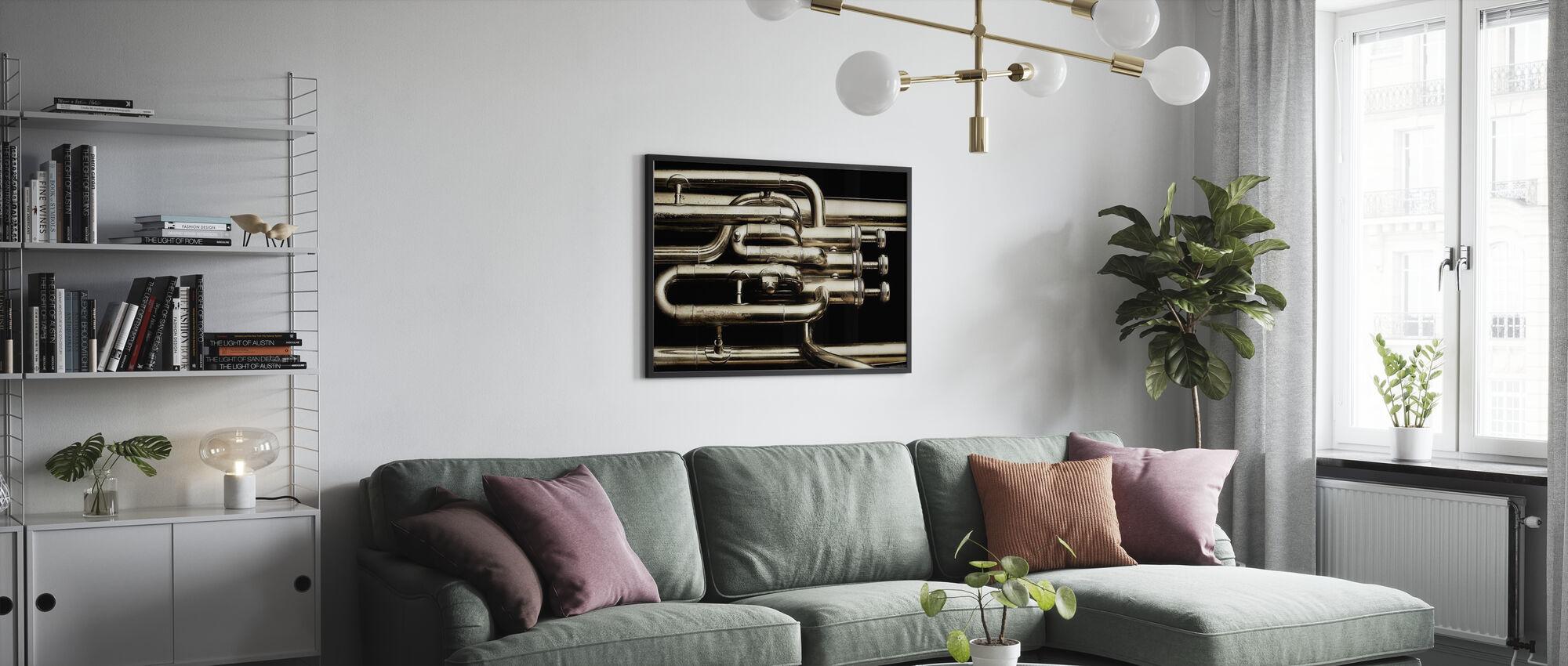 Messing Horn - Plakat - Stue