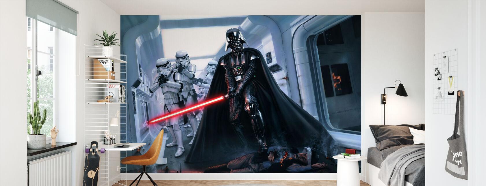Darth Vader™ - Hämnd - Tapet - Barnrum