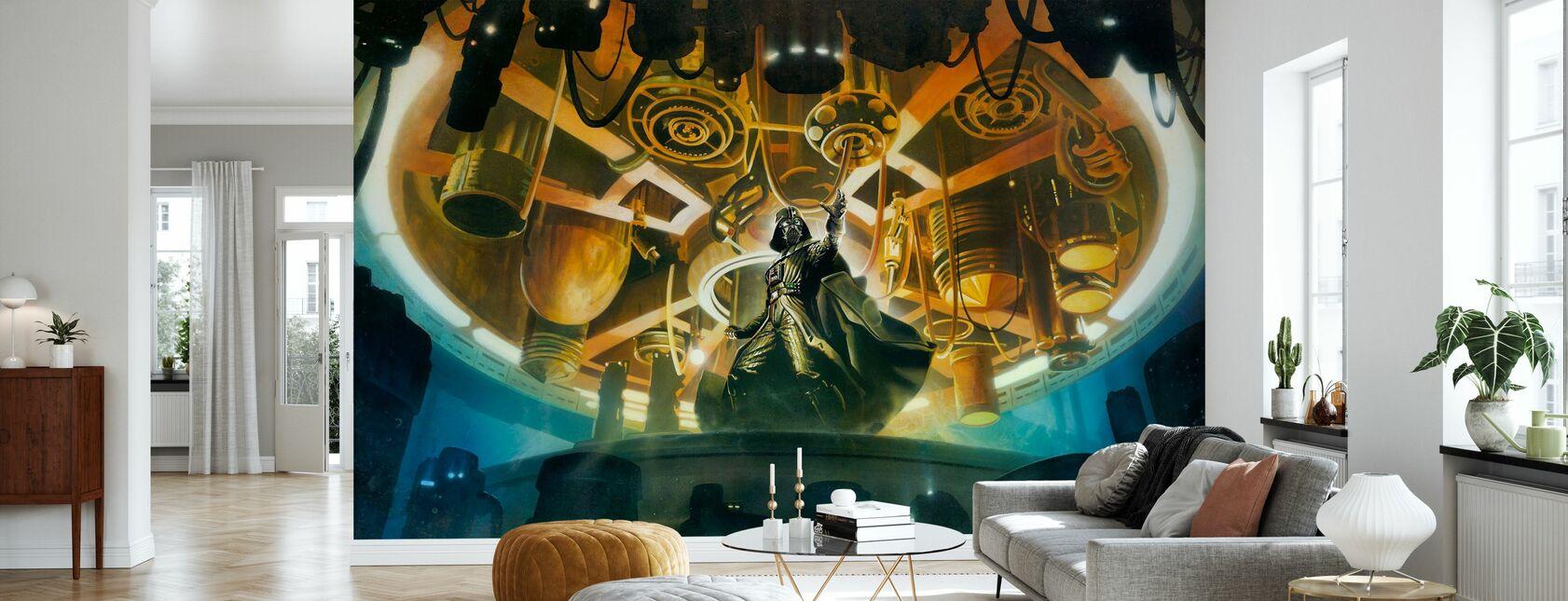 Darth Vader™ - Pilvi kaupunki™ - Tapetti - Olohuone