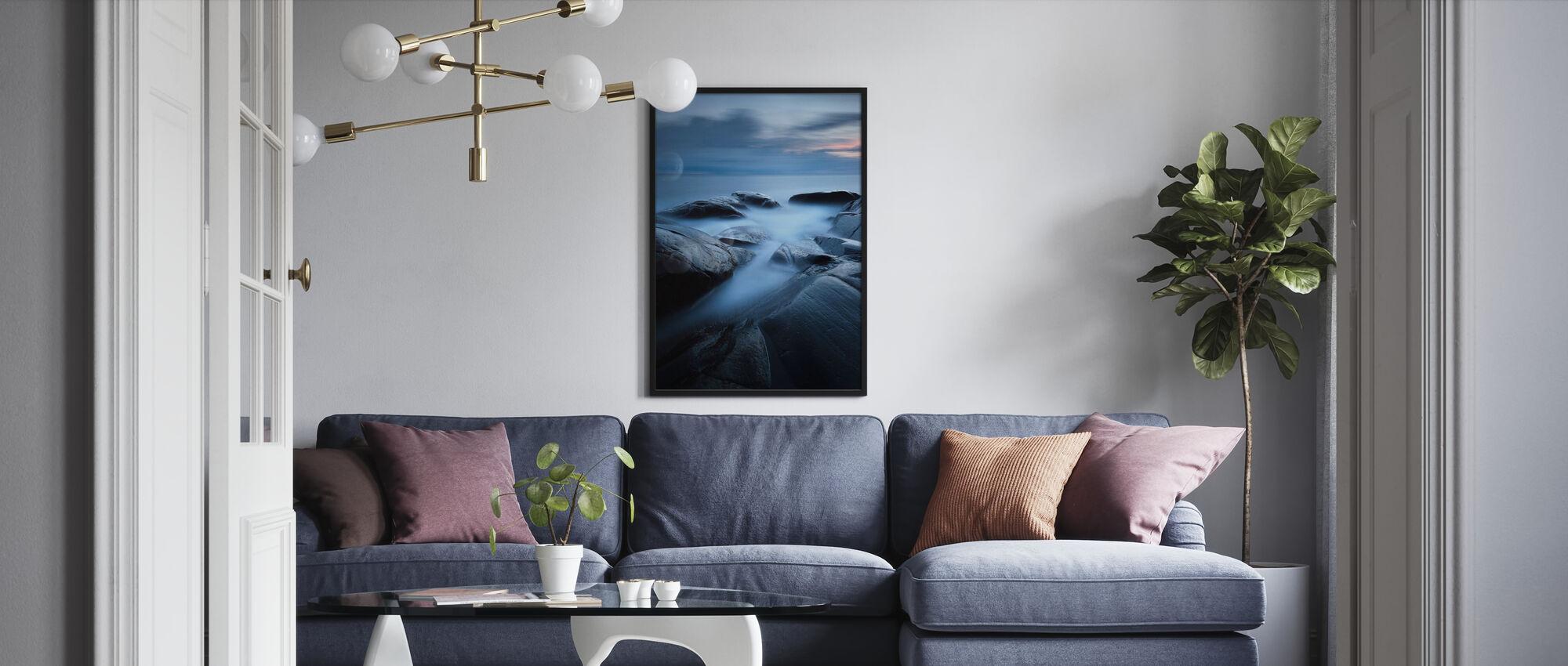 Grainy 352 Seconds - Framed print - Living Room