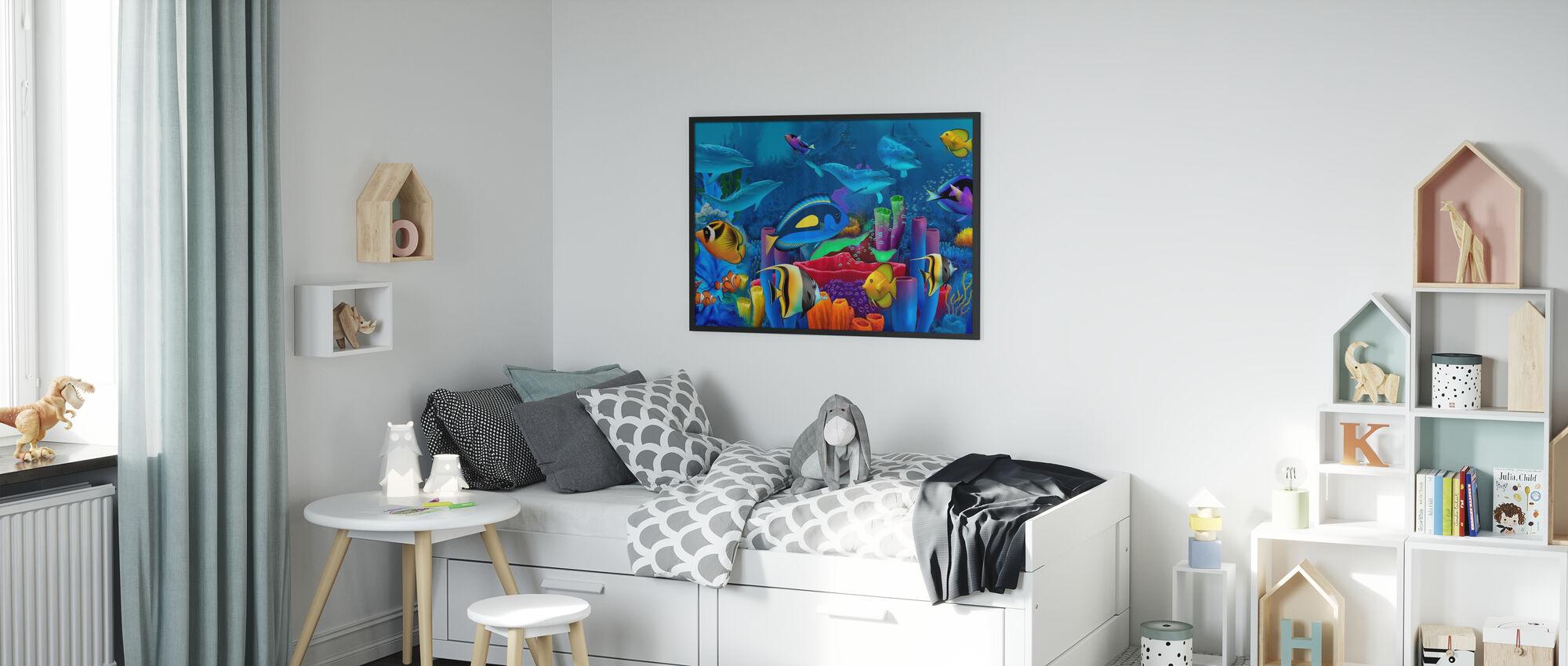 Neptunes Garden - Poster - Kids Room