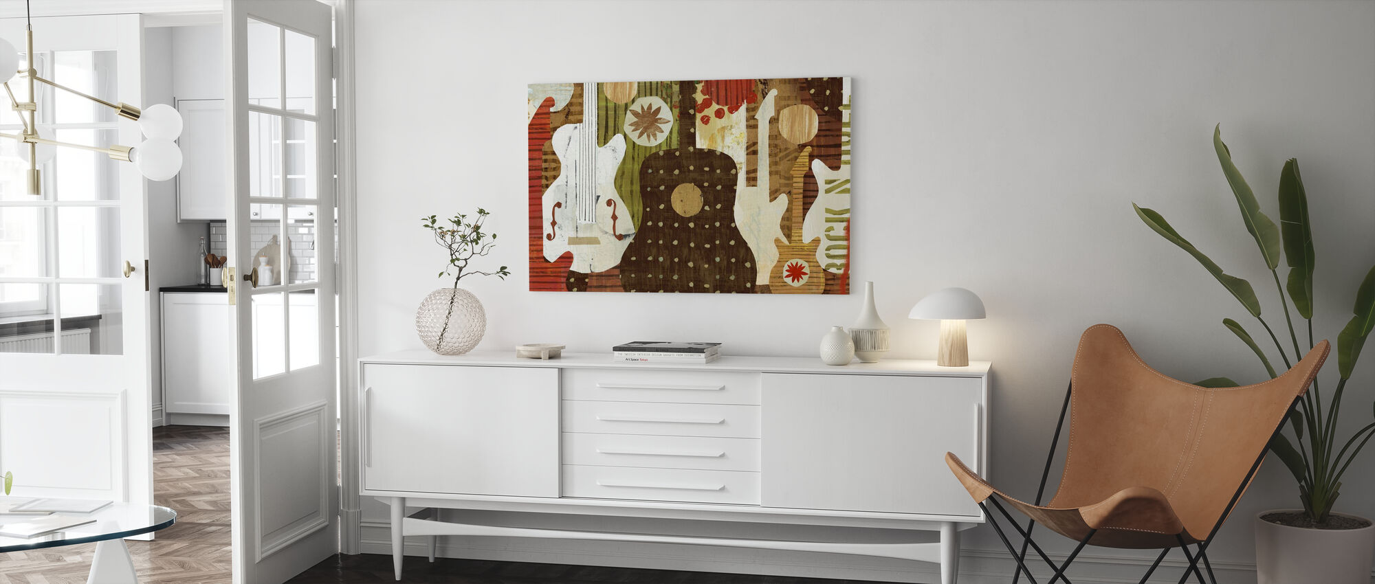 Rock and Roll Fantasy - Canvas print - Woonkamer