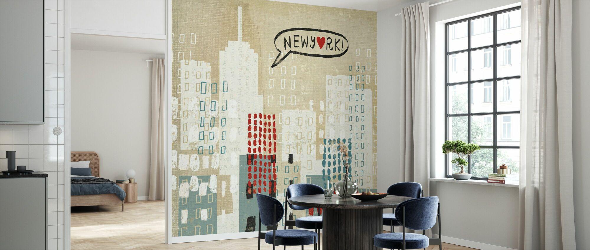 NYC Collage - Tapet - Kök