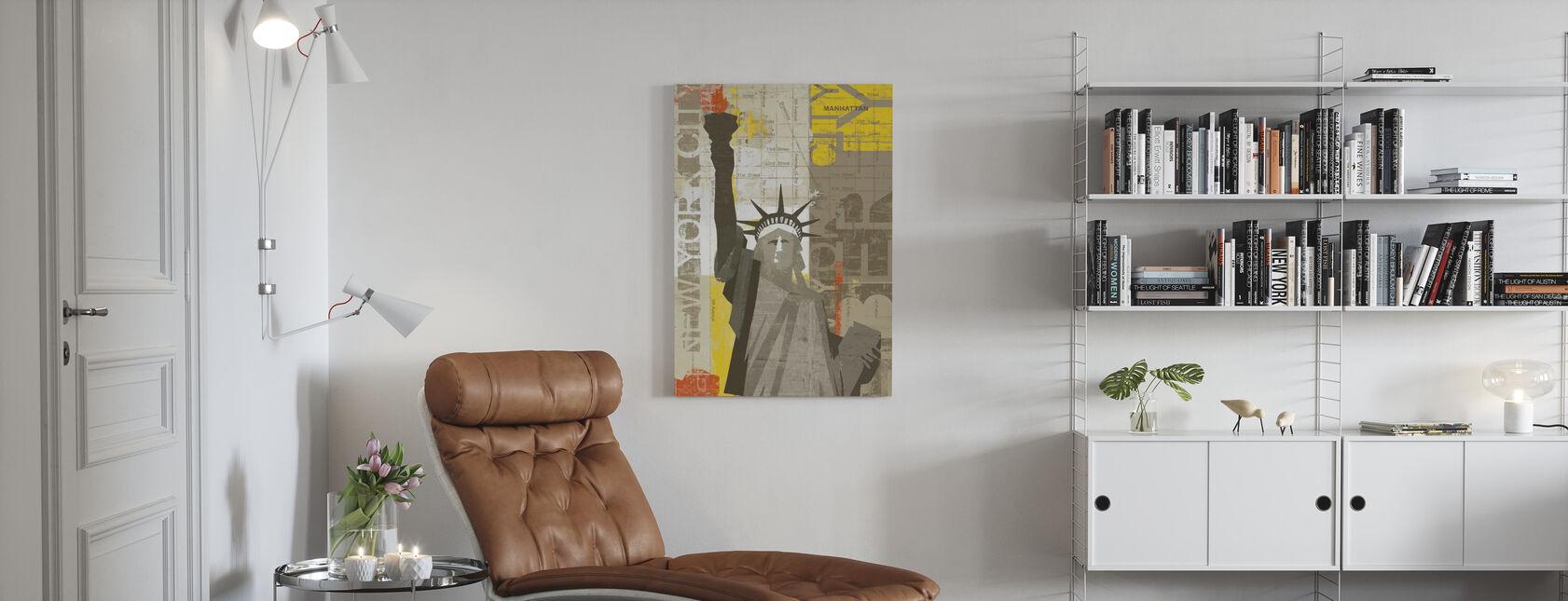 Liberty - Canvas print - Living Room