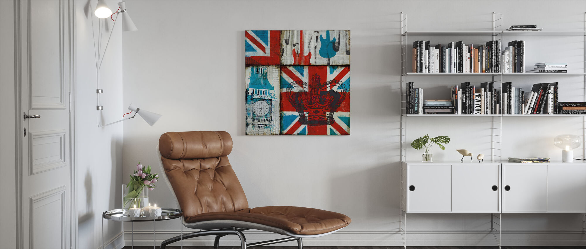 British Rock I - Canvas print - Living Room