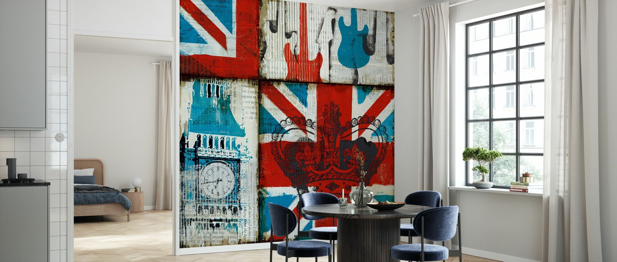 Britisk Rock I - Tapet - Kjøkken