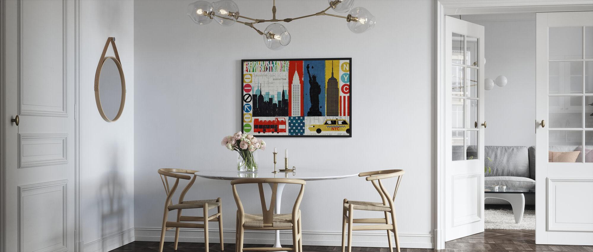 New York City Experience - Innrammet bilde - Kjøkken