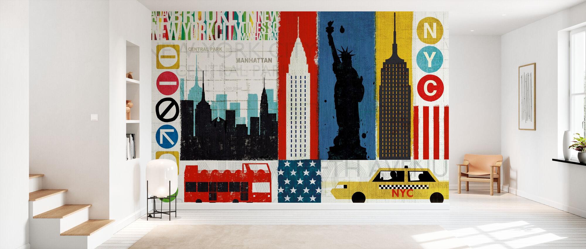 New Yorkin kaupungin kokemus - Tapetti - Aula