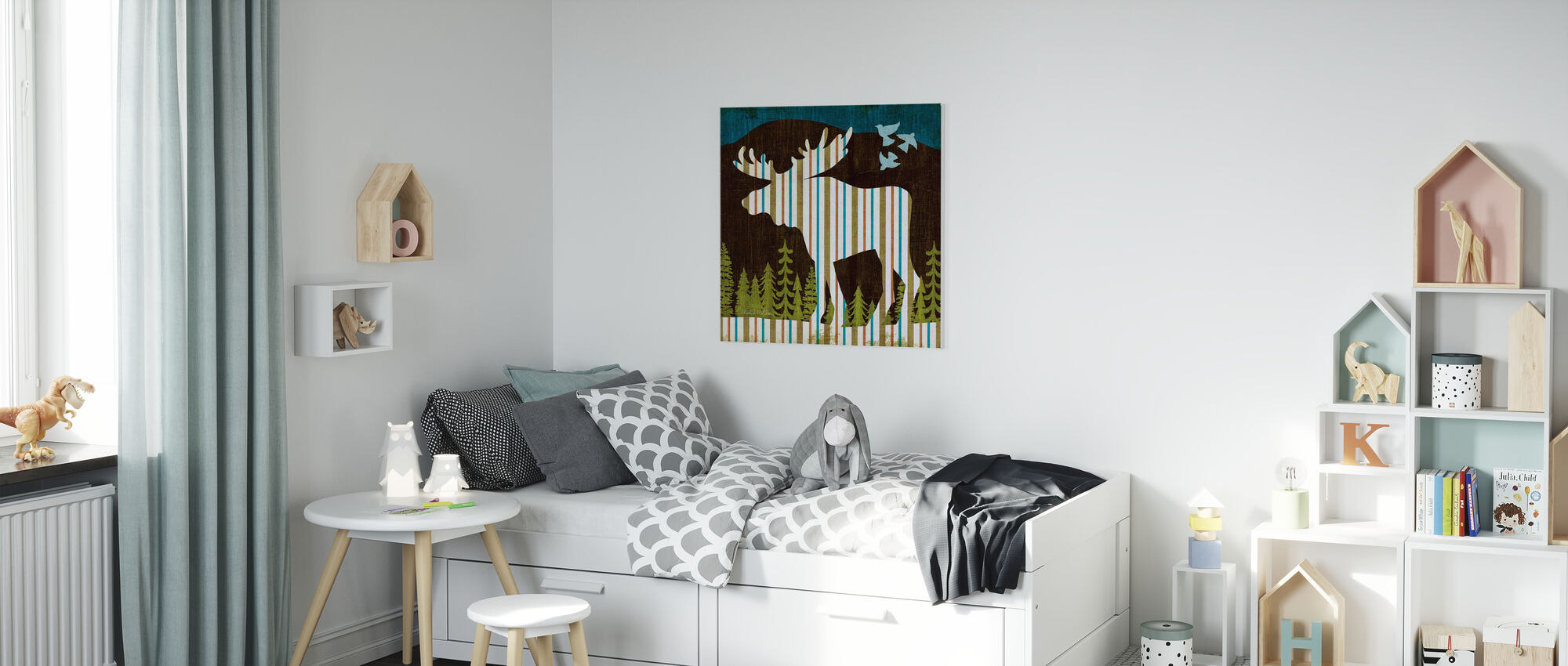 Nighttime Dwellers IV - Canvas print - Kids Room