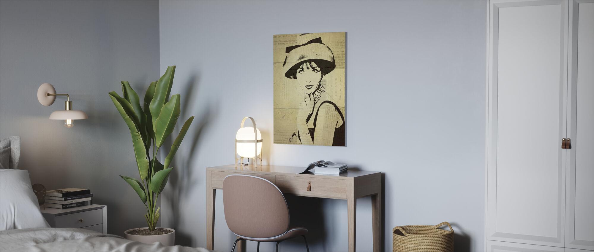 Fashion News I - Canvas print - Office
