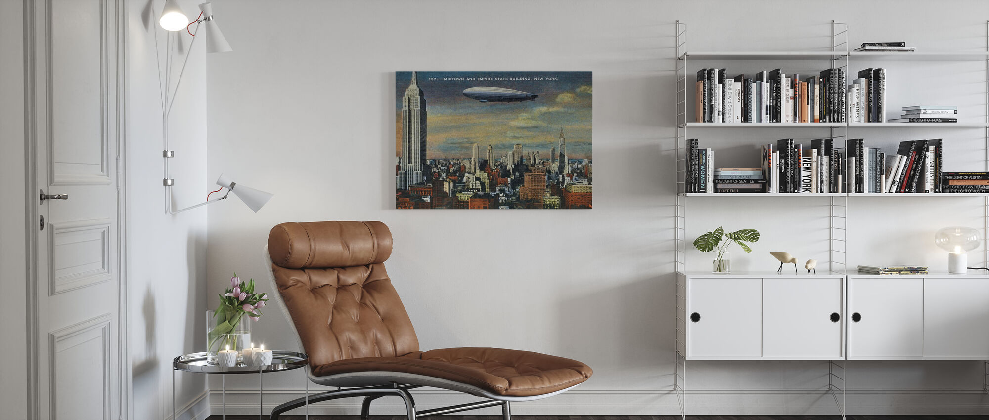 Midtown New York - Canvas print - Living Room