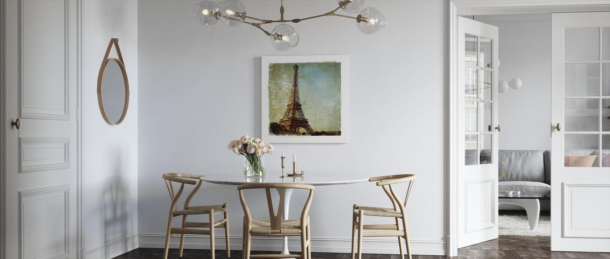 Golden Age of Paris I - Canvas print - Kitchen