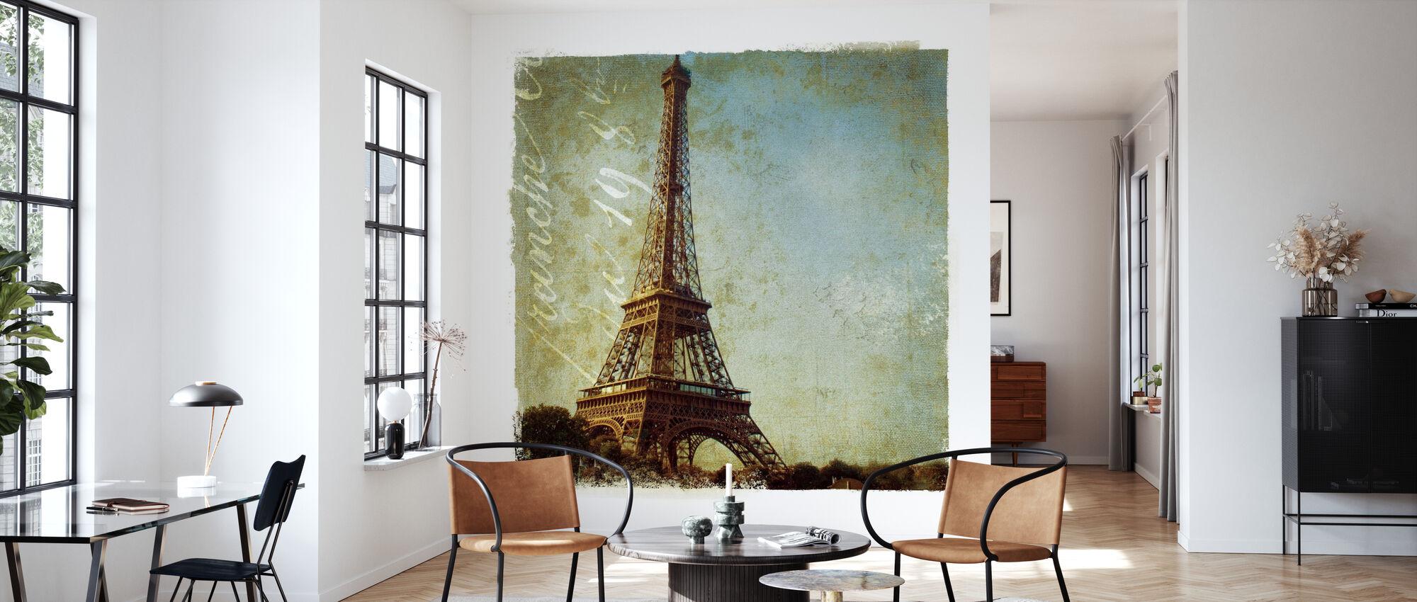 Golden Age of Paris I - Wallpaper - Living Room