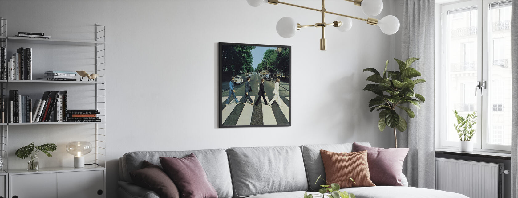 Beatles - Abbey Road - Plakat - Stue