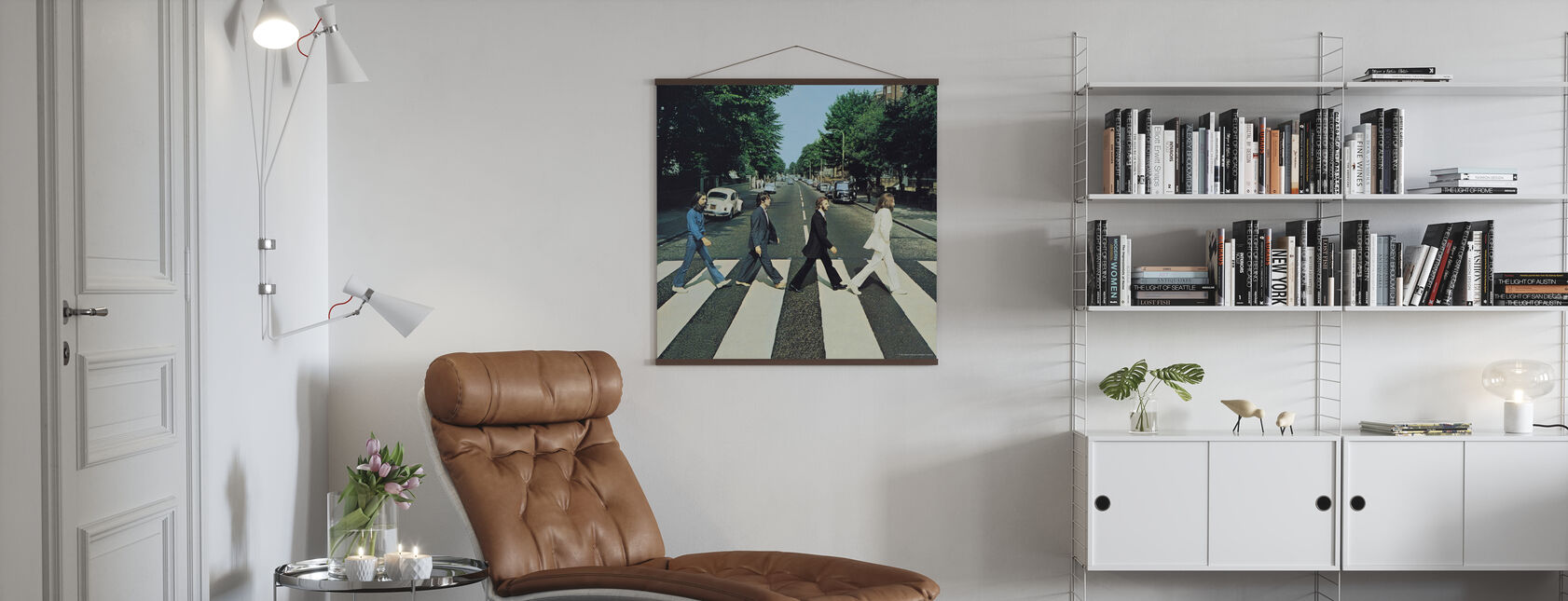 Beatles - Abbey Road - Juliste - Olohuone