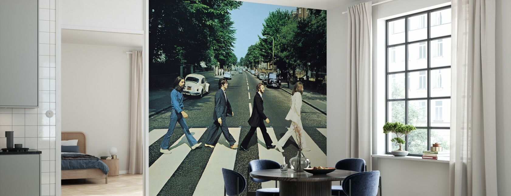 Beatles - Abbey Road - Wallpaper - Kitchen