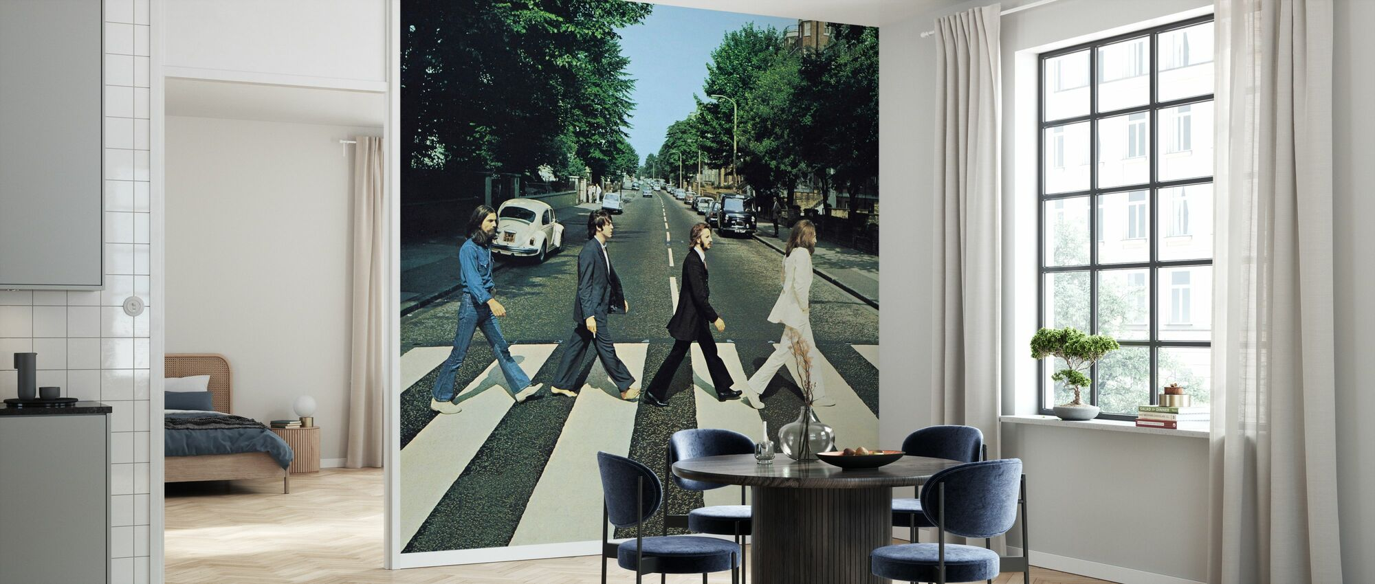Beatles - Abbey Road - Tapete - Küchen