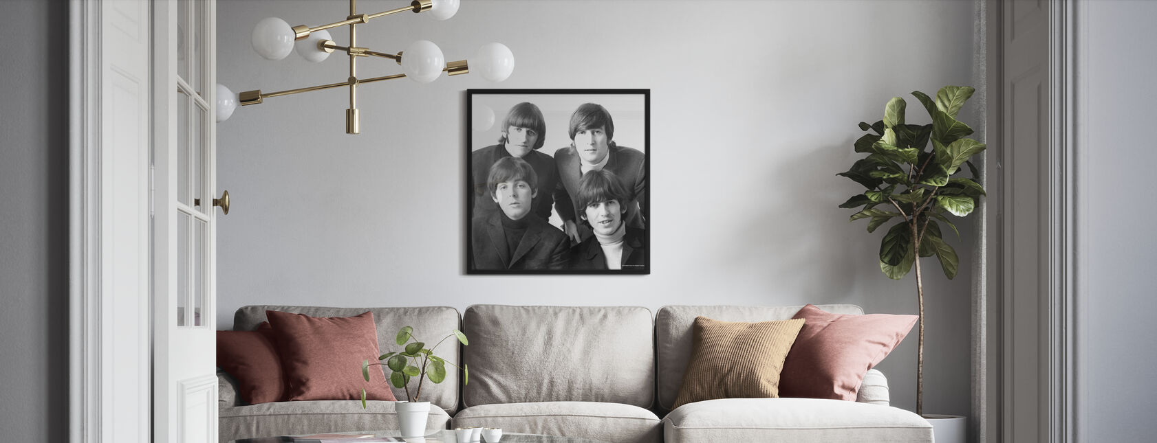 Beatles - Juliste - Olohuone