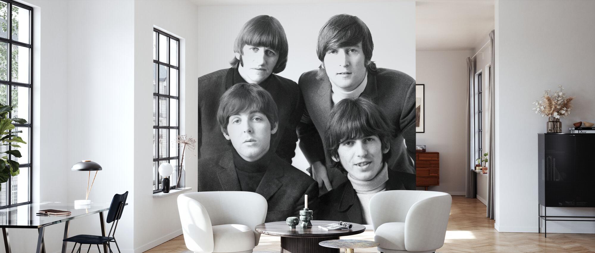 Les Beatles - Papier peint - Salle à manger