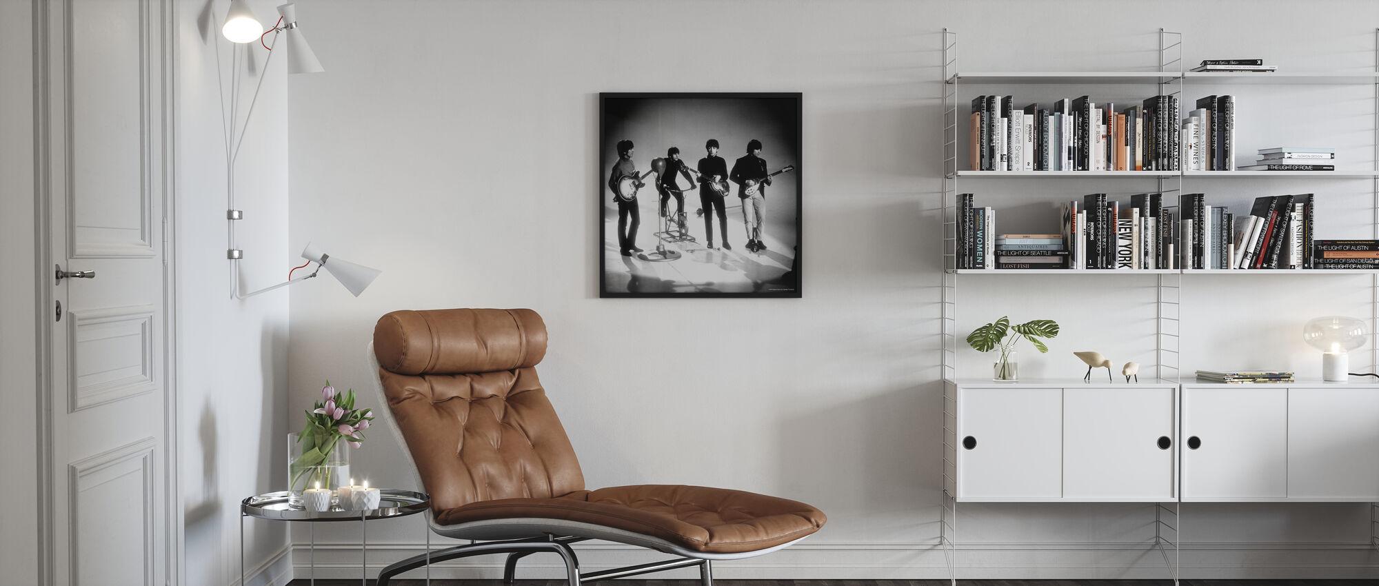 Beatles - Pelaaminen - Kehystetty kuva - Olohuone