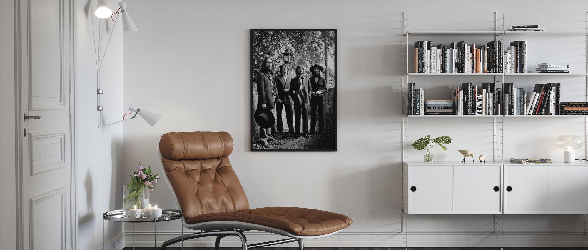 The Beatles - Lopullinen valokuva-istunto 1969 - Kehystetty kuva - Olohuone