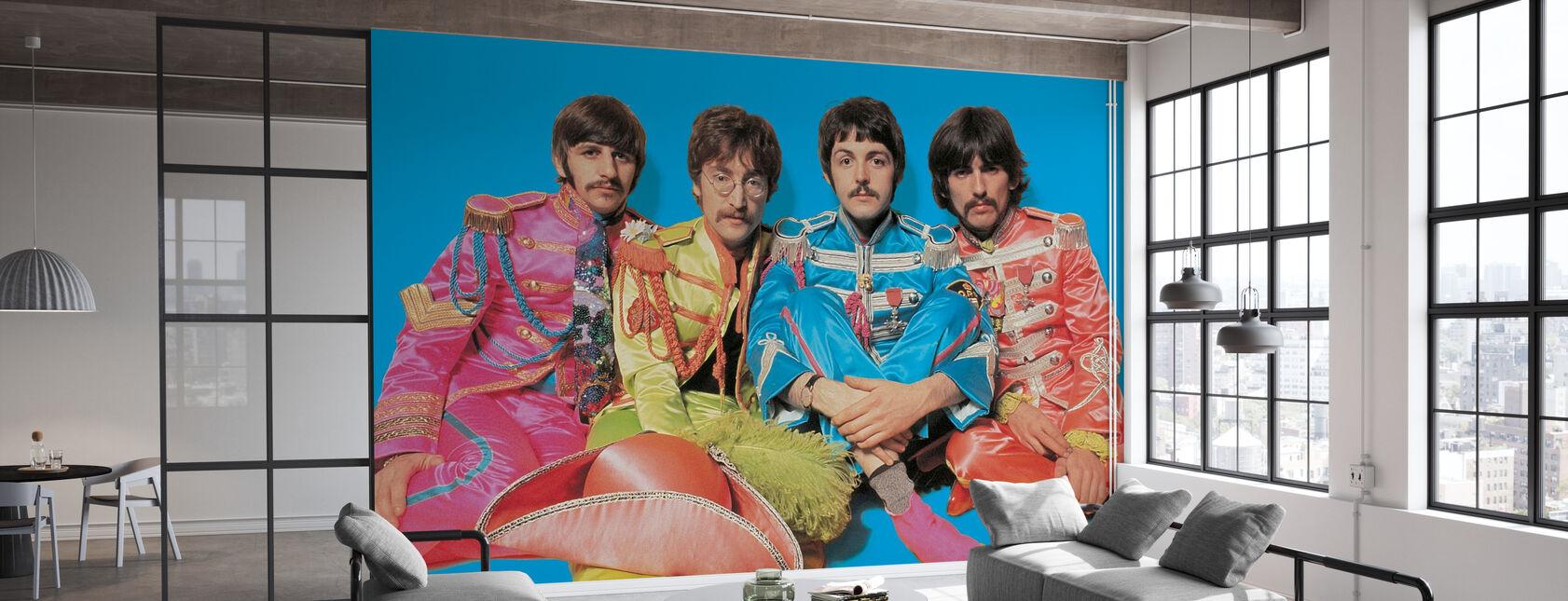 The Beatles - Sgt Peppers ensomme hjerter Club Band - Tapet - Kontor