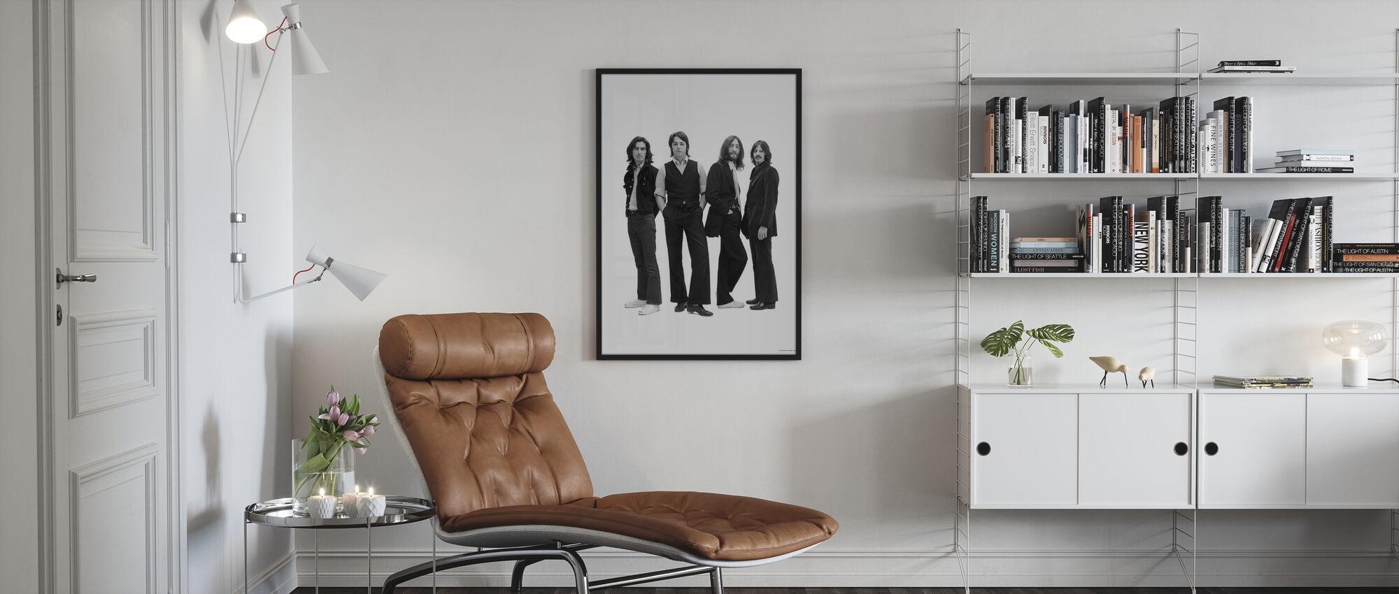 Beatles - Pose - Kehystetty kuva - Olohuone
