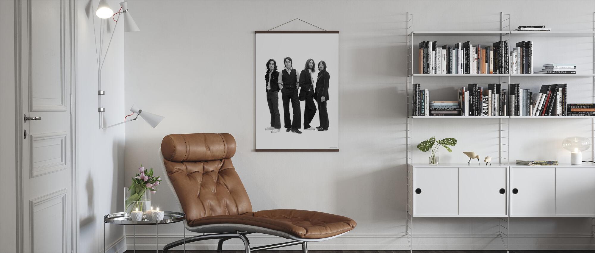 Beatles - Posera - Poster - Vardagsrum