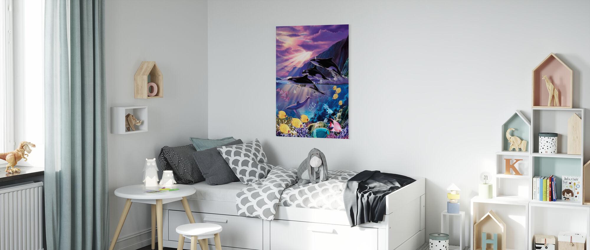 Marinier - Canvas print - Kinderkamer