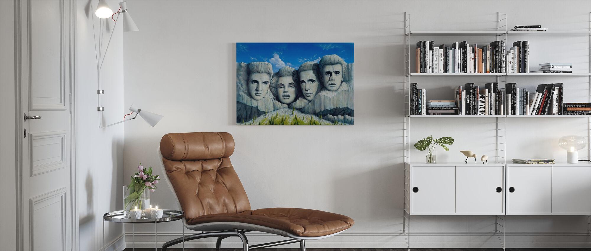 Legends - Canvas print - Living Room
