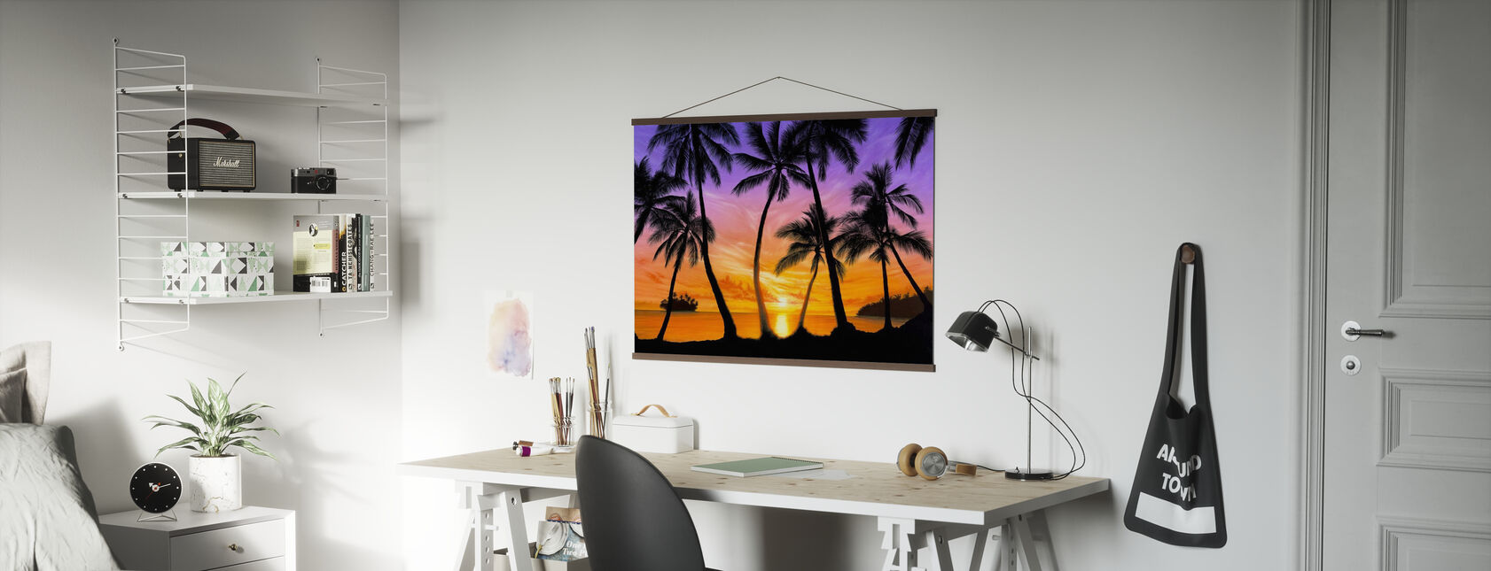 Palm Beach Sundown - Poster - Office