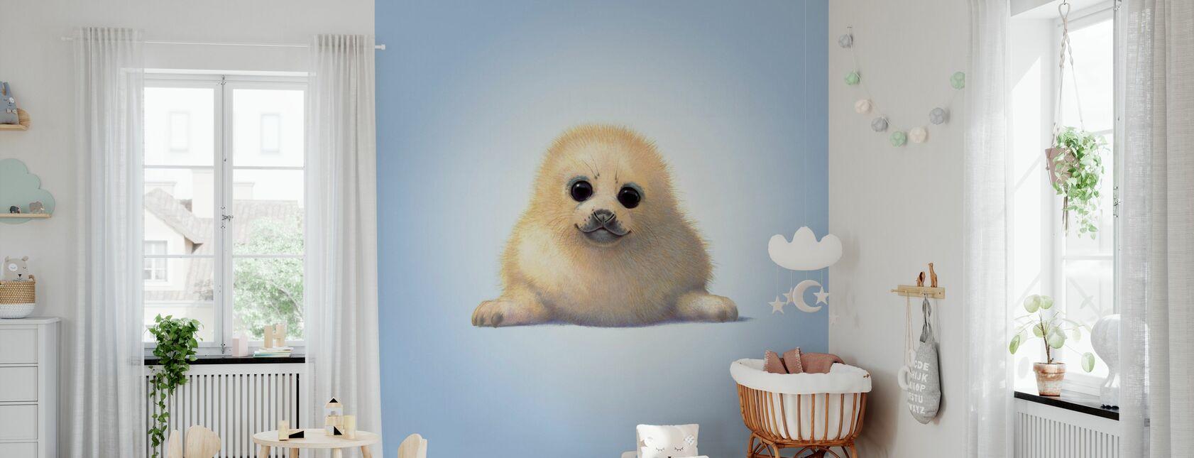 Seal Pup - Wallpaper - Nursery