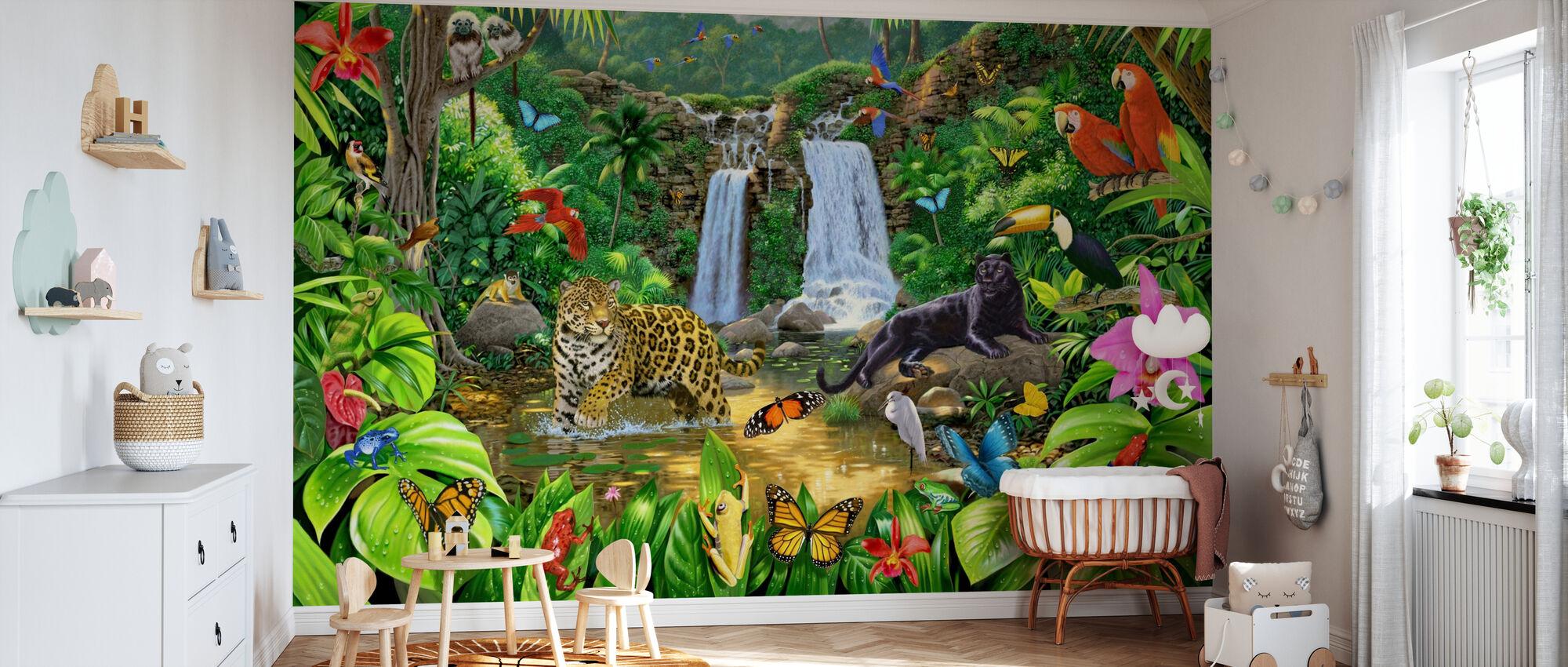 Rainforest Harmony - Wallpaper - Nursery