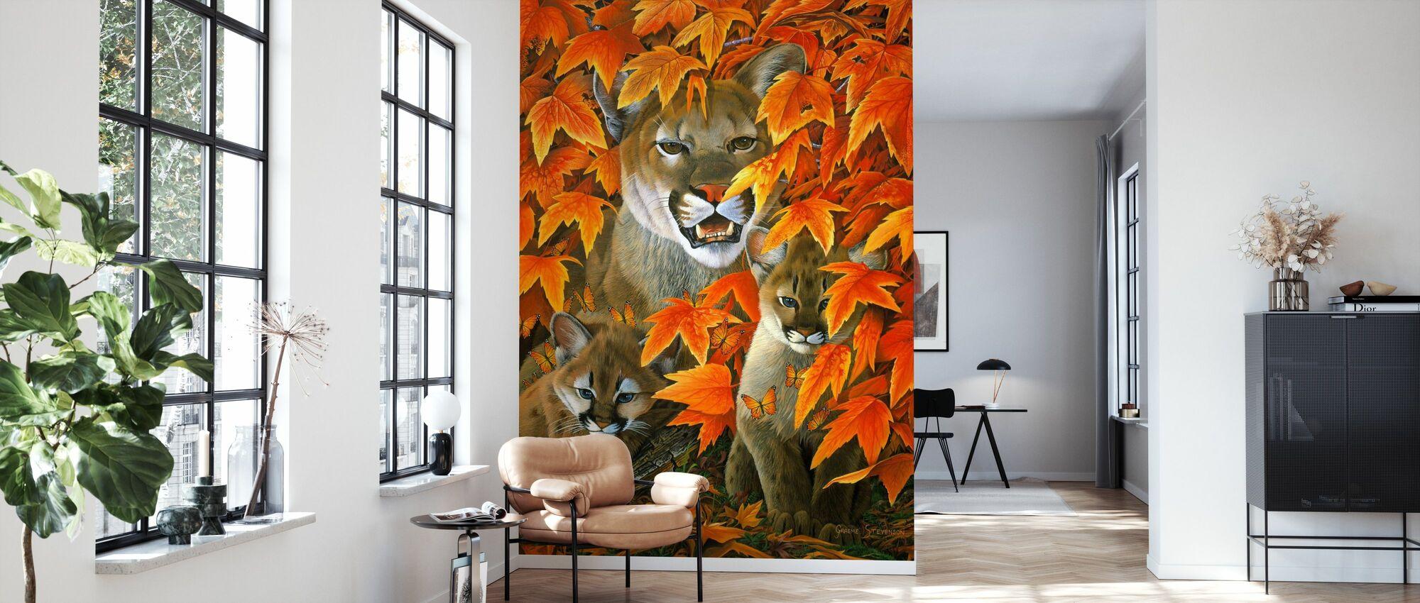 Mountain Colours - Wallpaper - Living Room