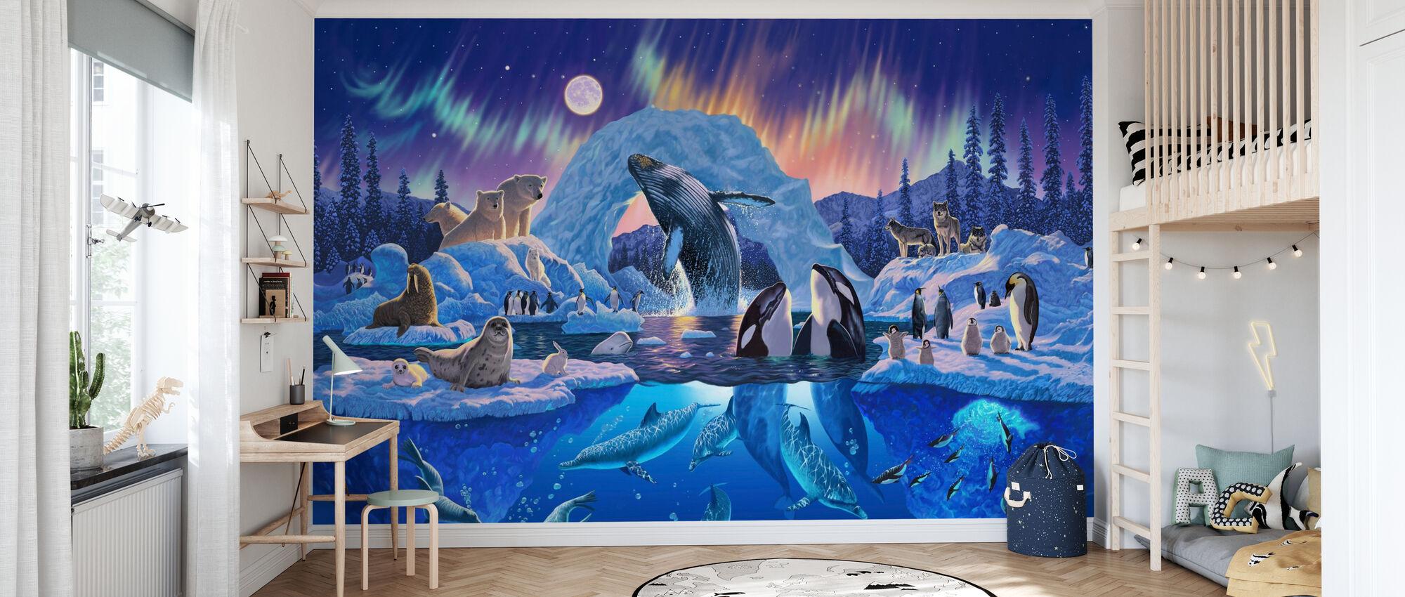 Armonia Artica - Carta da parati - Camera dei bambini