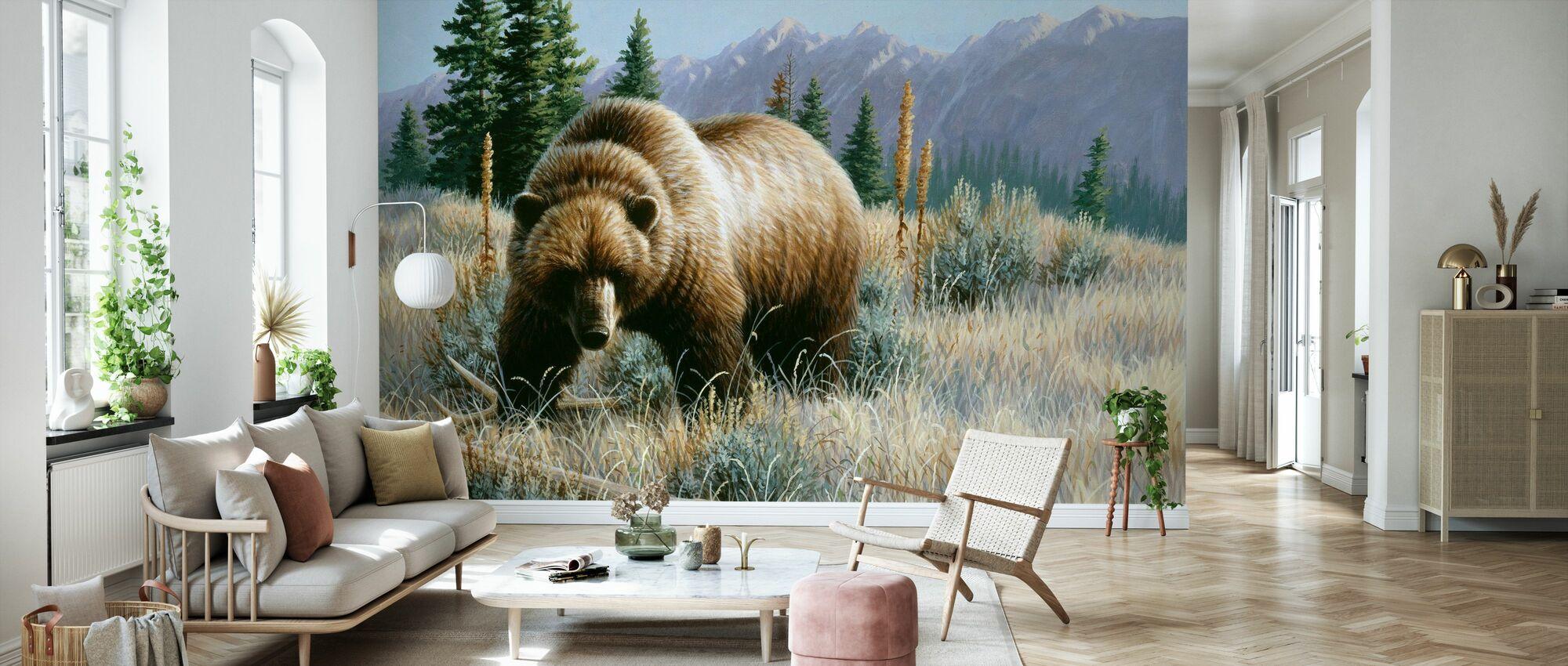 Small Griz - Wallpaper - Living Room