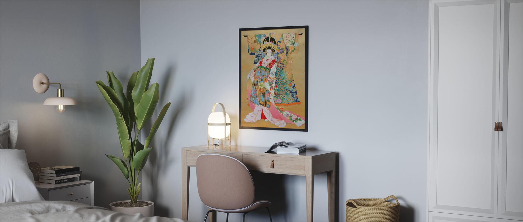 Kogane - Framed print - Bedroom