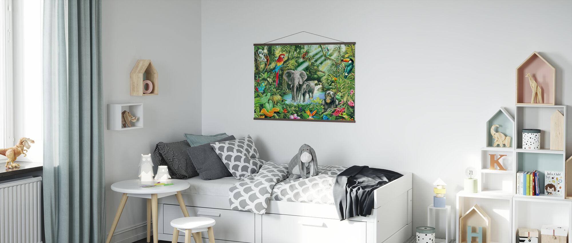 Jungle - Poster - Kids Room