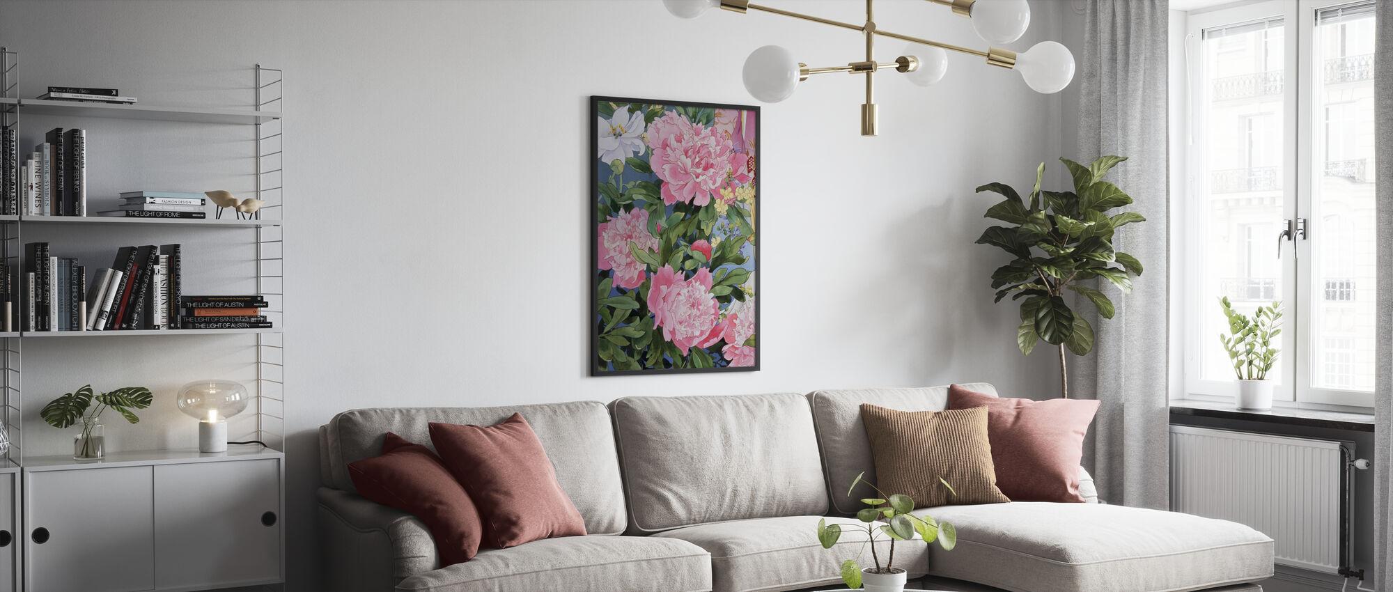 Syakuyaku - Poster - Wohnzimmer