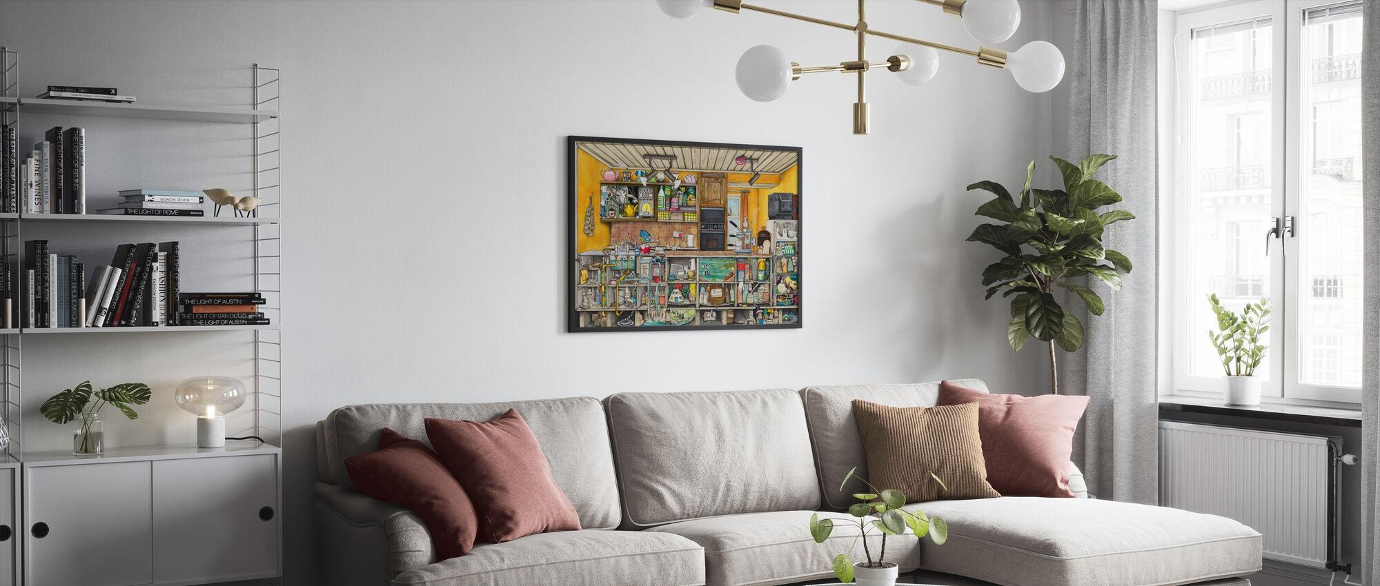 Køkkenet - Plakat - Stue