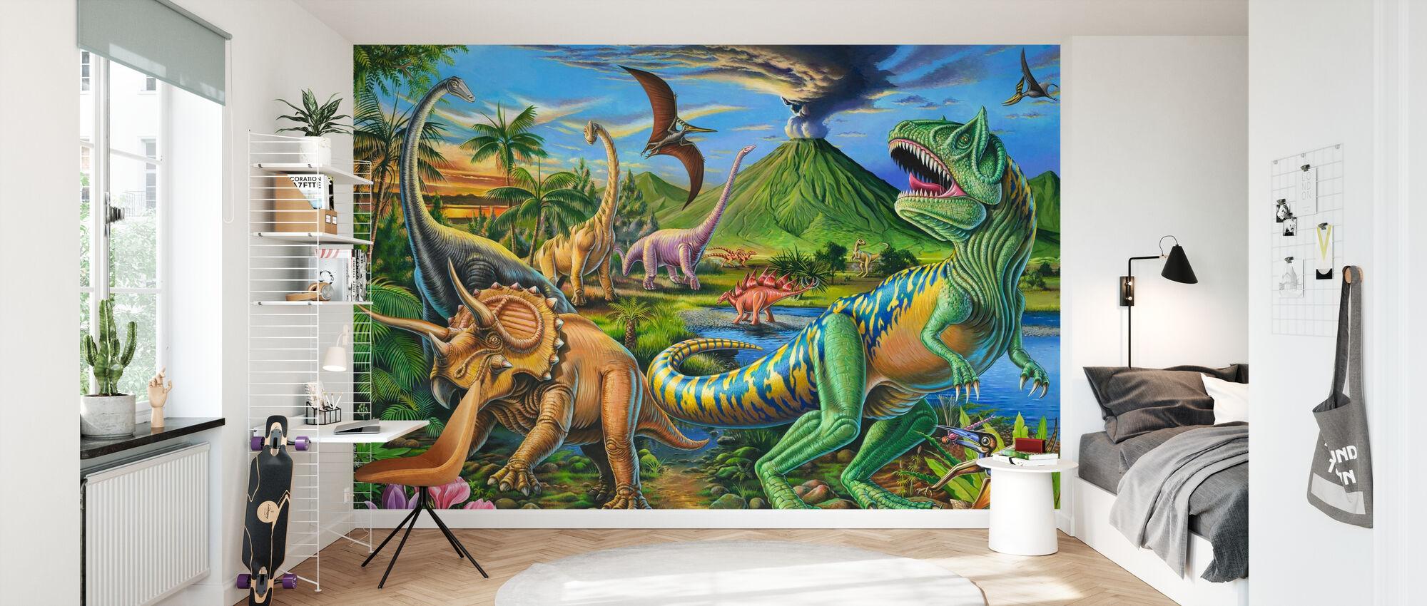 360 - Papier peint - Chambre des enfants