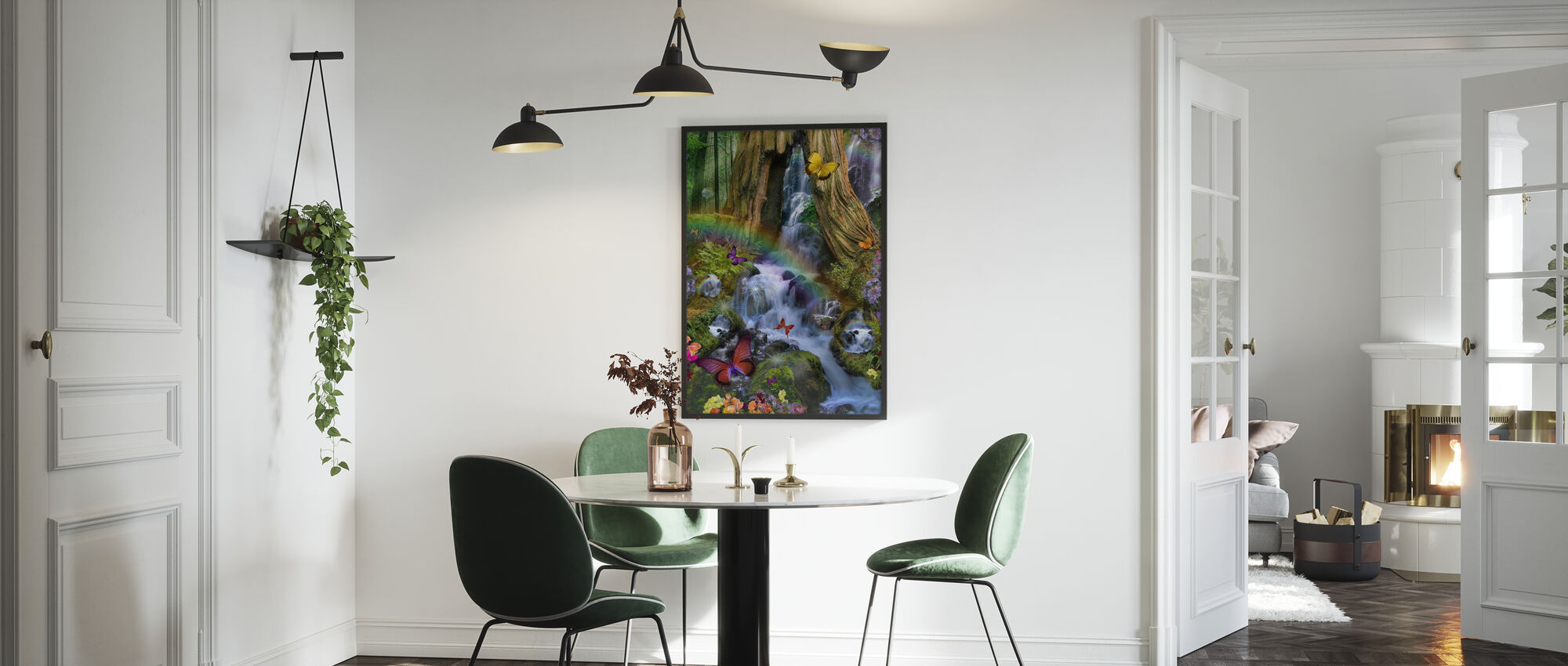 Woodland Forest Fairyland - Poster - Kitchen