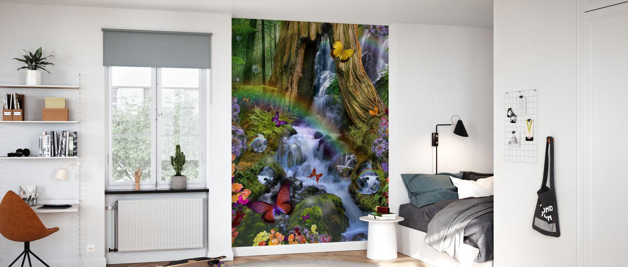 Woodland Forest Fairyland - Wallpaper - Kids Room