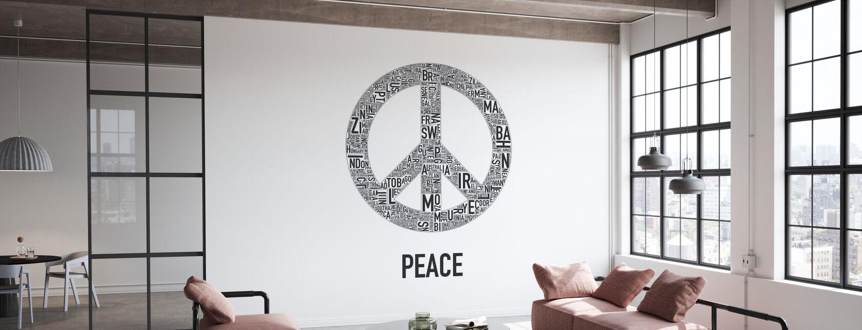La Paix - Papier peint - Bureau